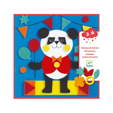 Acheter Collages en feutrine - Douces créatures - 10,99€ en ligne sur La Petite Epicerie - Loisirs créatifs