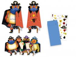 Acheter 8 Cartes d'invitation anniversaire Pirates - FSC MIX - 5,99€ en ligne sur La Petite Epicerie - Loisirs créatifs