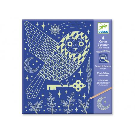 Acheter Cartes à gratter - Dans la nuit - 6,19€ en ligne sur La Petite Epicerie - Loisirs créatifs
