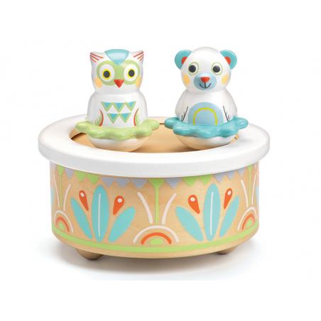 Acheter Boîte à musique pour bébé - couleurs pastelles - 27,49€ en ligne sur La Petite Epicerie - 100% Loisirs créatifs