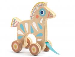 Acheter Petit jouet à tirer - cheval - 14,29€ en ligne sur La Petite Epicerie - 100% Loisirs créatifs