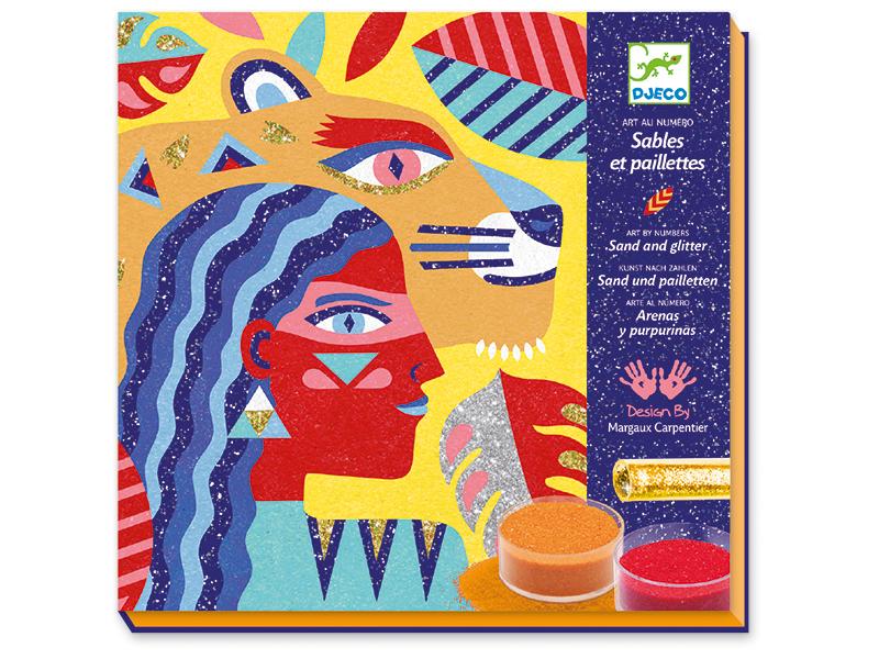 Acheter Sables colorés - Animal totem - 22,19€ en ligne sur La Petite Epicerie - Loisirs créatifs