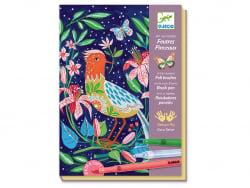 Acheter Feutres pinceaux - Au jardin - 20,99€ en ligne sur La Petite Epicerie - Loisirs créatifs