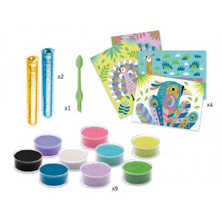 Acheter Sables colorés - Eblouissants oiseaux - 17,19€ en ligne sur La Petite Epicerie - Loisirs créatifs