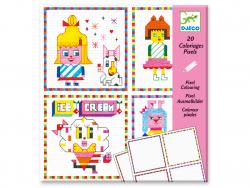 Acheter Coloriage surprise - Hipster girls - 4,49€ en ligne sur La Petite Epicerie - 100% Loisirs créatifs