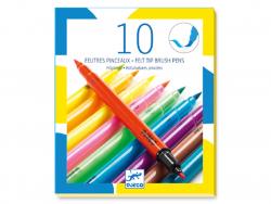 Acheter 10 feutres pinceaux - Pop - 14,99€ en ligne sur La Petite Epicerie - Loisirs créatifs