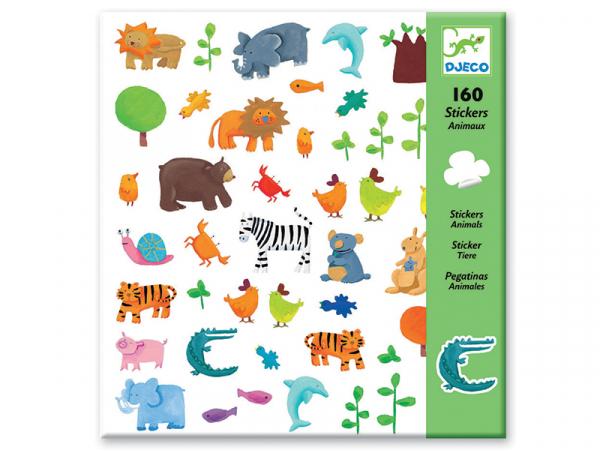 Acheter Stickers en papier - Animaux - 3,19€ en ligne sur La Petite Epicerie - 100% Loisirs créatifs