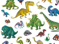Acheter Stickers en papier - Dinosaures - 3,19€ en ligne sur La Petite Epicerie - Loisirs créatifs