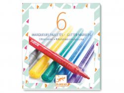 Acheter 6 marqueurs pailletés - classique - 12,49€ en ligne sur La Petite Epicerie - Loisirs créatifs
