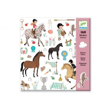 Acheter Stickers en papier - Chevaux - 3,19€ en ligne sur La Petite Epicerie - Loisirs créatifs