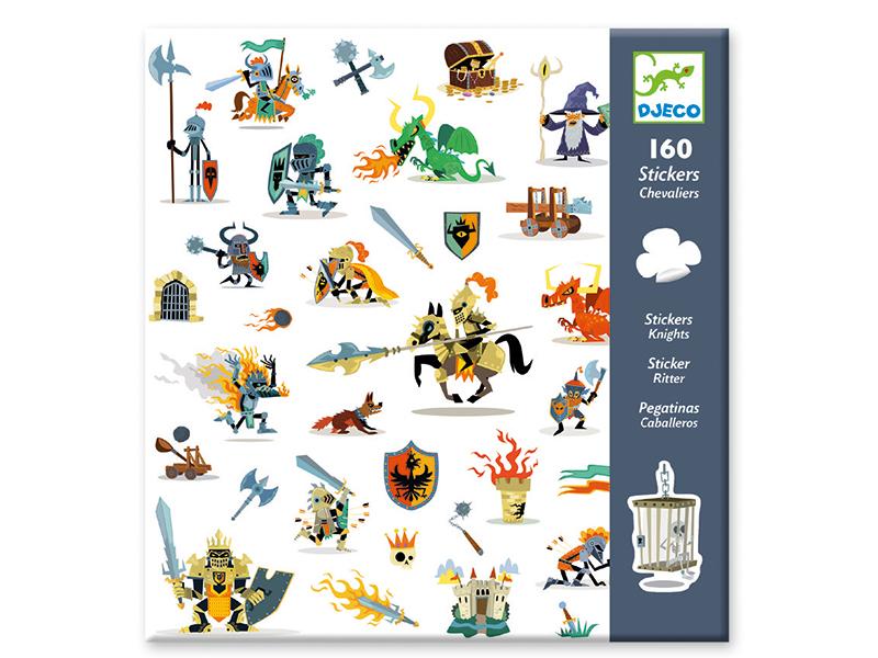 Acheter Stickers en papier - Chevaliers - 3,19€ en ligne sur La Petite Epicerie - 100% Loisirs créatifs