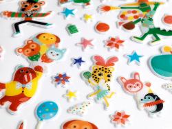 Acheter Gommettes en volume - La fête - 9,19€ en ligne sur La Petite Epicerie - Loisirs créatifs