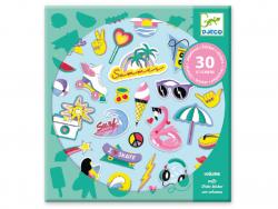 Acheter Stickers à texture - California - 4,49€ en ligne sur La Petite Epicerie - Loisirs créatifs