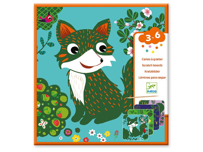 Acheter Cartes à gratter - Petites bêtes - 6,19€ en ligne sur La Petite Epicerie - Loisirs créatifs