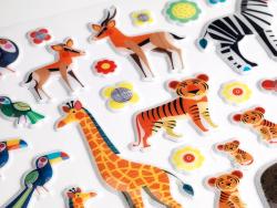 Acheter Gommettes en volume - Mamans et petits animaux - 9,19€ en ligne sur La Petite Epicerie - Loisirs créatifs