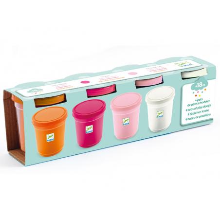 Acheter 4 pots de pâte à modeler - sweet - 7,99€ en ligne sur La Petite Epicerie - Loisirs créatifs