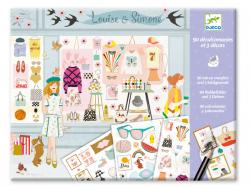 Acheter Décalcomanies - Fashionista - 8,49€ en ligne sur La Petite Epicerie - Loisirs créatifs