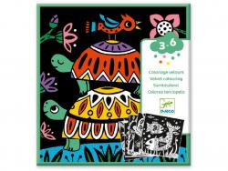 Acheter Coloriage velours - Bestioles - 6,19€ en ligne sur La Petite Epicerie - Loisirs créatifs