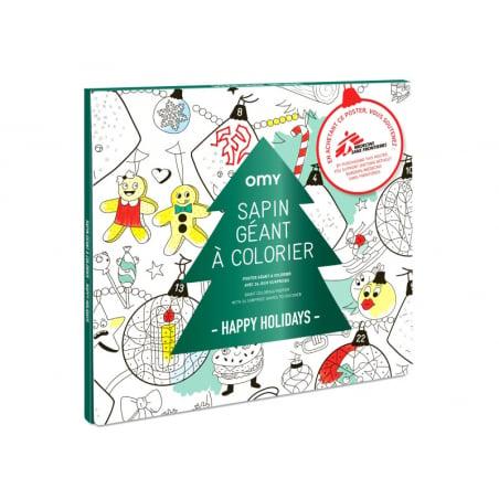 Acheter Poster géant en papier à colorier - SAPIN - 12,59€ en ligne sur La Petite Epicerie - Loisirs créatifs