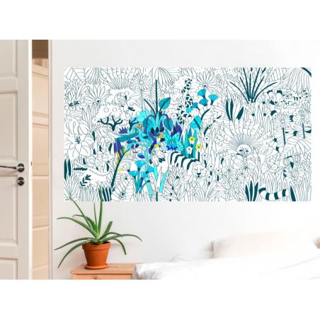 Acheter Poster XXL en papier à colorier - TROPICAL - 21,99€ en ligne sur La Petite Epicerie - 100% Loisirs créatifs