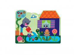 Acheter Coloriage - Caché dans le jardin - 9,99€ en ligne sur La Petite Epicerie - Loisirs créatifs