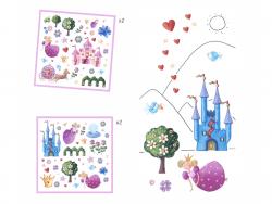 Acheter Stickers en papier - Princesse Marguerite - 3,19€ en ligne sur La Petite Epicerie - Loisirs créatifs