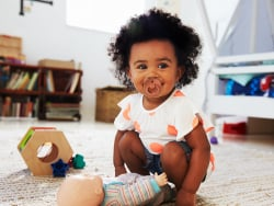 Acheter Tétine bibs - Taille 0-6 mois - Terracotta - 3,99€ en ligne sur La Petite Epicerie - Loisirs créatifs