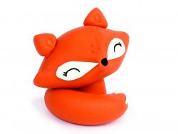 Acheter Boule de Noel métallique + fimo - Renard - 8,49€ en ligne sur La Petite Epicerie - Loisirs créatifs