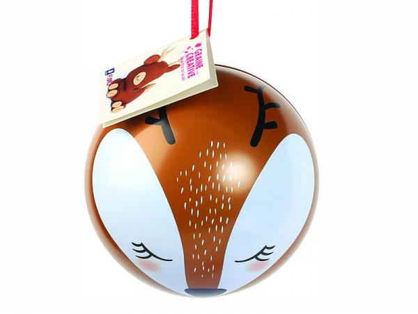 Acheter Boule de Noel métallique + fimo - Biche - 8,49€ en ligne sur La Petite Epicerie - 100% Loisirs créatifs