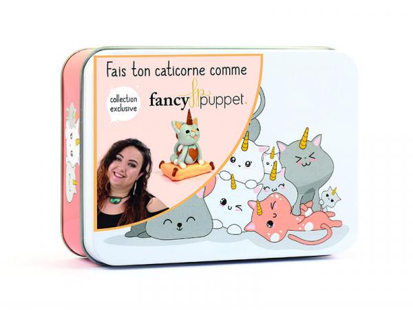 Acheter Boite métal Fimo Kawaii Caticorne - 11,29€ en ligne sur La Petite Epicerie - 100% Loisirs créatifs