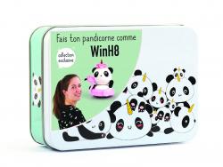Acheter Boite métal Fimo Kawaii Pandicorne win - 11,29€ en ligne sur La Petite Epicerie - 100% Loisirs créatifs