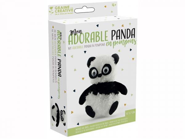 Acheter Kit pompons panda - 2,49€ en ligne sur La Petite Epicerie - 100% Loisirs créatifs