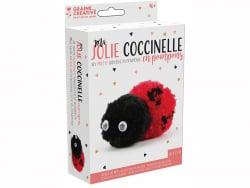 Acheter Kit pompons coccinelle - 2,49€ en ligne sur La Petite Epicerie - Loisirs créatifs
