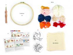 Acheter Kit punch needle diptyque 150 mm - 19,49€ en ligne sur La Petite Epicerie - Loisirs créatifs