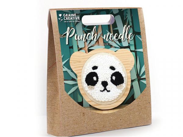 Acheter Kit punch needle panda 150 mm - 16,99€ en ligne sur La Petite Epicerie - Loisirs créatifs