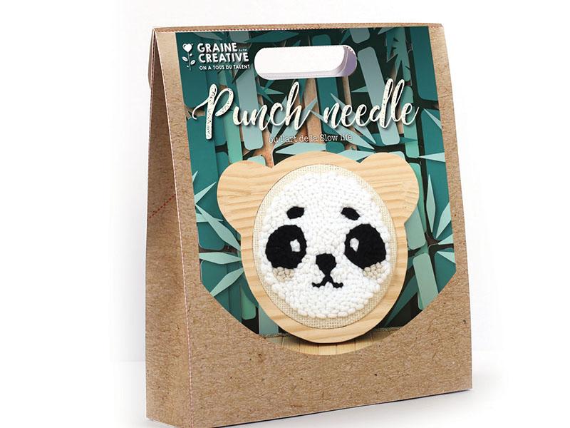 Acheter Kit punch needle panda 150 mm - 16,99€ en ligne sur La Petite Epicerie - 100% Loisirs créatifs