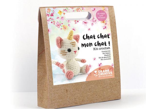 Acheter Kit crochet chat licorne 150 mm - 13,69€ en ligne sur La Petite Epicerie - Loisirs créatifs