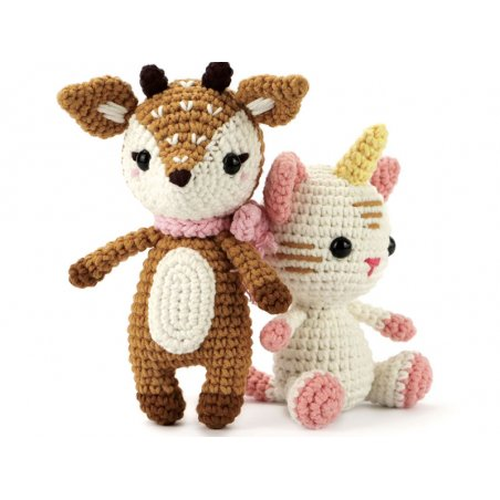 Acheter Kit crochet chat licorne 150 mm - 13,69€ en ligne sur La Petite Epicerie - 100% Loisirs créatifs