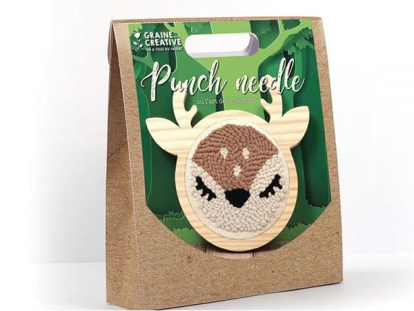 Acheter Kit punch needle biche 150 mm - 16,99€ en ligne sur La Petite Epicerie - Loisirs créatifs