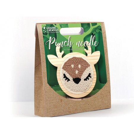 Acheter Kit punch needle biche 150 mm - 16,99€ en ligne sur La Petite Epicerie - 100% Loisirs créatifs