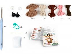 Acheter Kit crochet biche 170 mm - 13,69€ en ligne sur La Petite Epicerie - 100% Loisirs créatifs