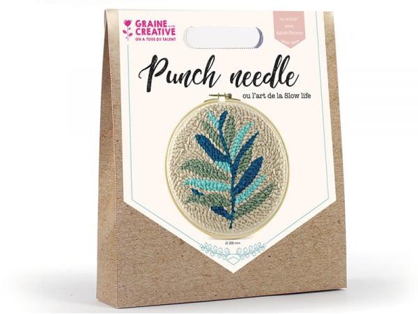 Acheter Kit punch needle feuillage - 18,99€ en ligne sur La Petite Epicerie - Loisirs créatifs