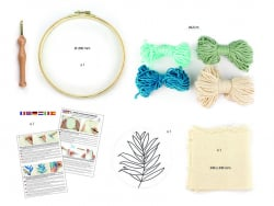 Acheter Kit punch needle feuillage - 18,99€ en ligne sur La Petite Epicerie - 100% Loisirs créatifs