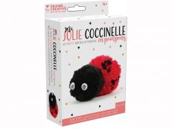 Acheter Kit pompons coccinelle - 2,49€ en ligne sur La Petite Epicerie - 100% Loisirs créatifs