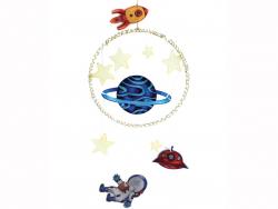 Acheter Kit plastique dingue suspension galaxie - 6,49€ en ligne sur La Petite Epicerie - 100% Loisirs créatifs