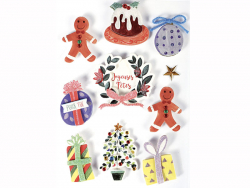 Acheter 10 stickers décoration de Noel 3D - 4,29€ en ligne sur La Petite Epicerie - Loisirs créatifs