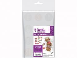 Acheter 24 sachets avec stickers de l'avent 12 x 18 cm - 2,99€ en ligne sur La Petite Epicerie - 100% Loisirs créatifs