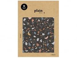 Acheter 28 stickers formes géométriques et graphiques motifs couleurs foncés - 1,59€ en ligne sur La Petite Epicerie - 100% ...
