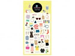 Acheter Stickers garde robe vintage - 2,49€ en ligne sur La Petite Epicerie - Loisirs créatifs