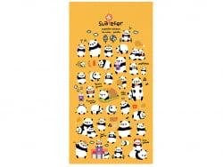 Acheter Stickers pandas rigolos effet 3D - 2,49€ en ligne sur La Petite Epicerie - Loisirs créatifs